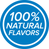 100% Natural Flavors