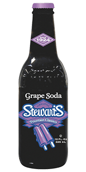Stewart's Grape Soda